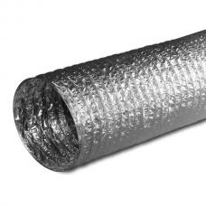 Воздуховод гофрированный D=125 мм (1 м)