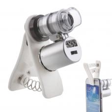 Универсальный светодиодный микроскоп/лупа 60х