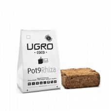 Брикет кокосового торфа UGro Pot 9 Rhiza